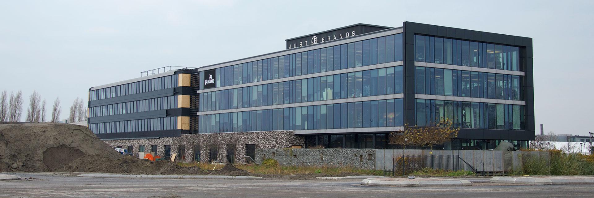 project kantoorgebouw bouw