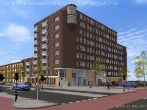 projectmatige bouw appartementen